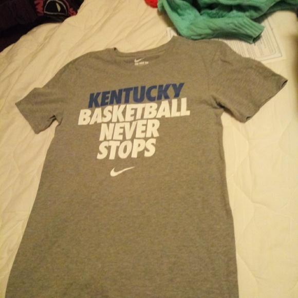 Nike Shirts Kentucky Basketball Just Do It Shirt Small Poshmark